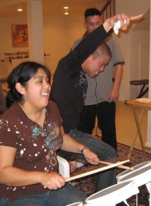 More Rockband with Hubby's Cousins