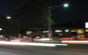 Funky Shot from Woodward Avenue last summer