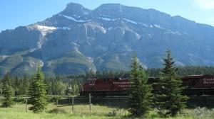 """A """"chance"""" photo, shot during our trip to Banff, Alberta"""