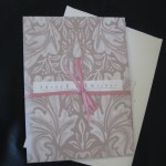 Our &quot;Three Wishes&quot; wedding invitations; designed by Future Hubby, himself
