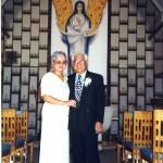 My Parents in 1999; the same chapel they married in 30 years prior.